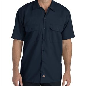 Dickies Short Sleev Button Down